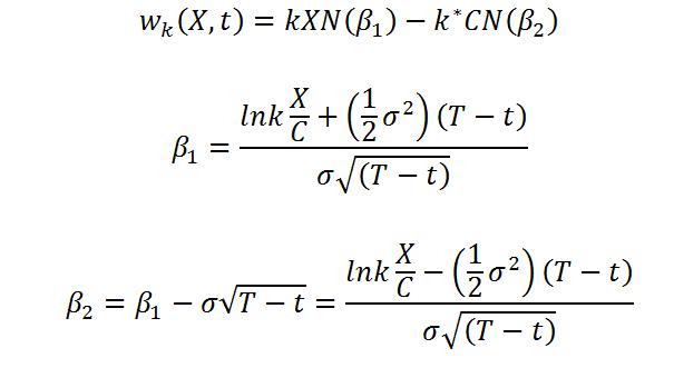 Model wyceny Spranklea